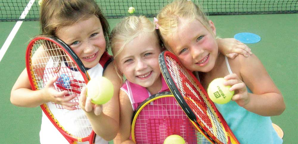 Group Tennis Games For Kids